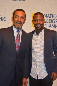 Clifton Davis and Stephen Rider
