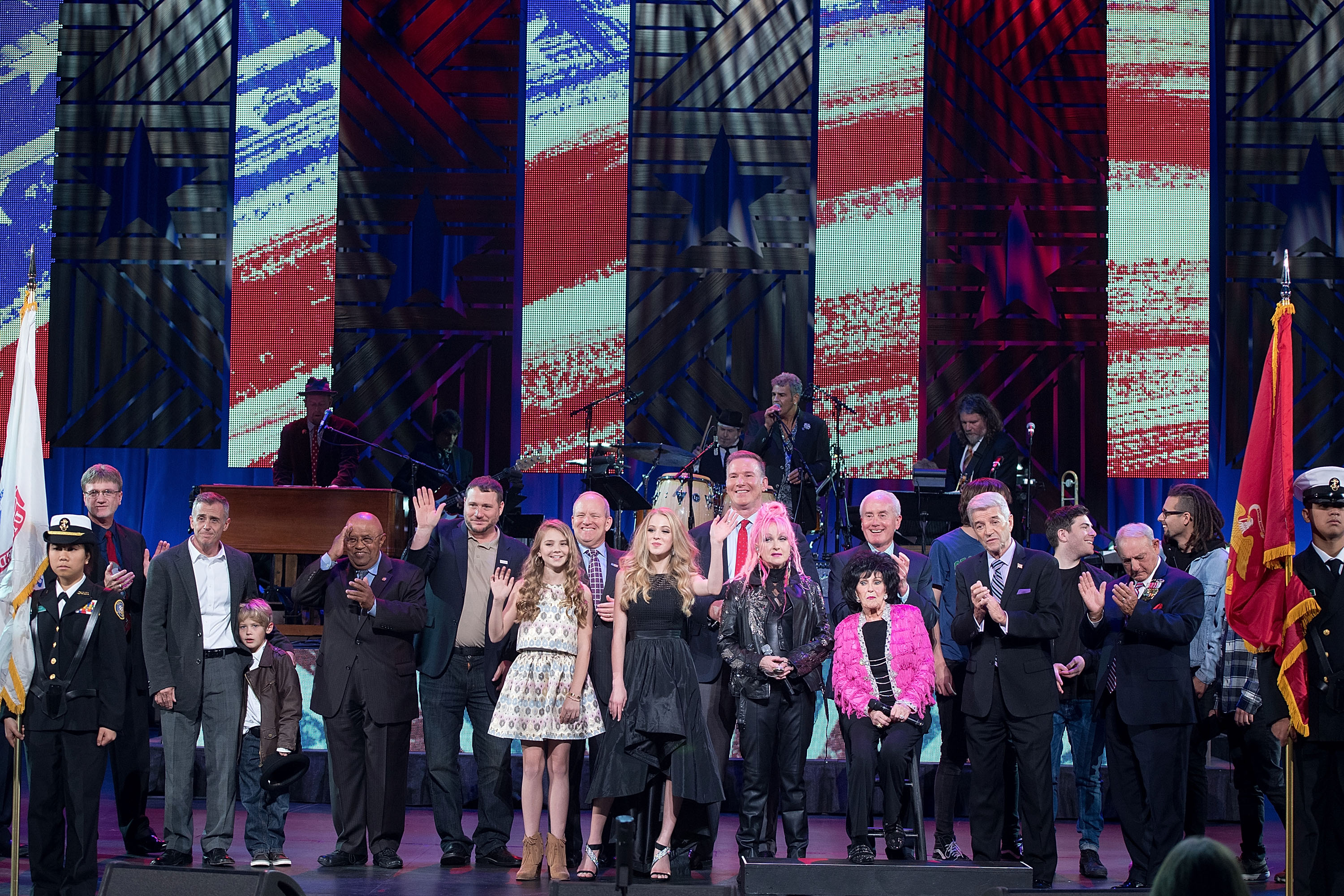 "Photo by Daniel Boczarski/Getty Images for ""America Salutes You"" Concert"