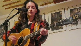 Michaela Anne Performs in Freehold, NJ, Potluck Meal Immediately Follows