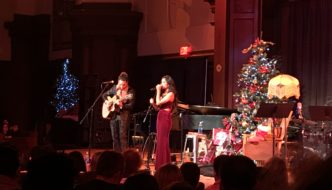 Us The Duo Brings The Holiday Spirit to NYC